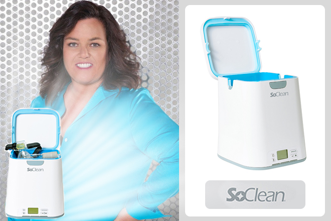 Rosie-O'Donnell-SoClean-CPAP