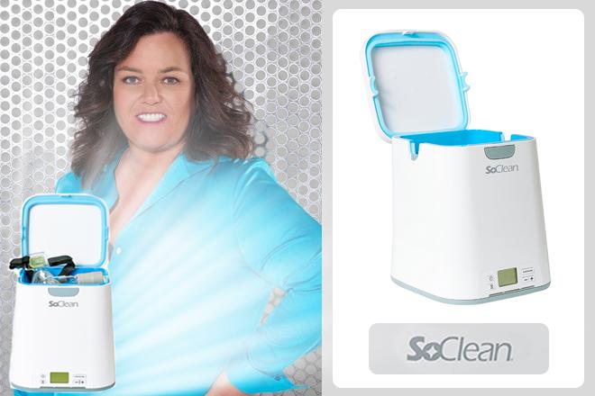Rosie-O'Donnell-SoClean-CPAP