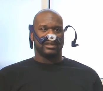 Shaq with Mask