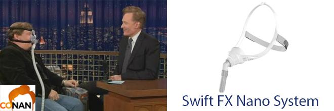 Andy Richter vs Swift FX Nano