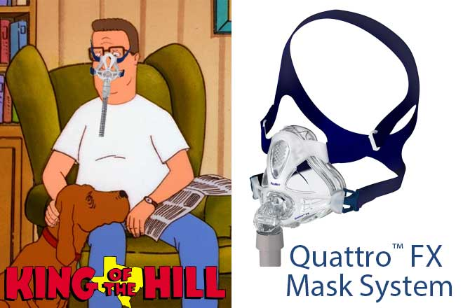 hank-hill-king-of-the-hill-Quattro-FX-CPAP-Mask