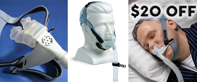 Up to $30 off Respironics CPAP Masks - 1 Week Only - Easy