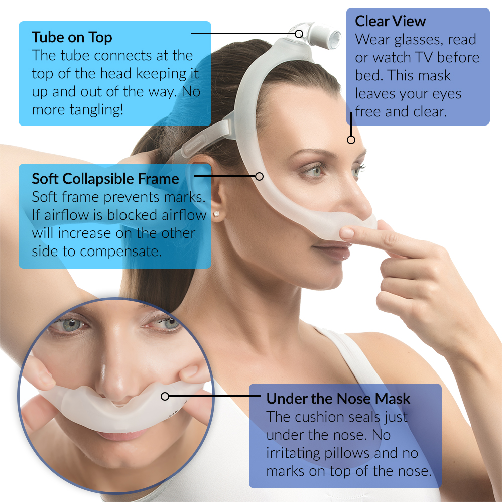 masks sizes for all pillow nose mask snoring sleep pillows inc cpap nasal apnea fits itm