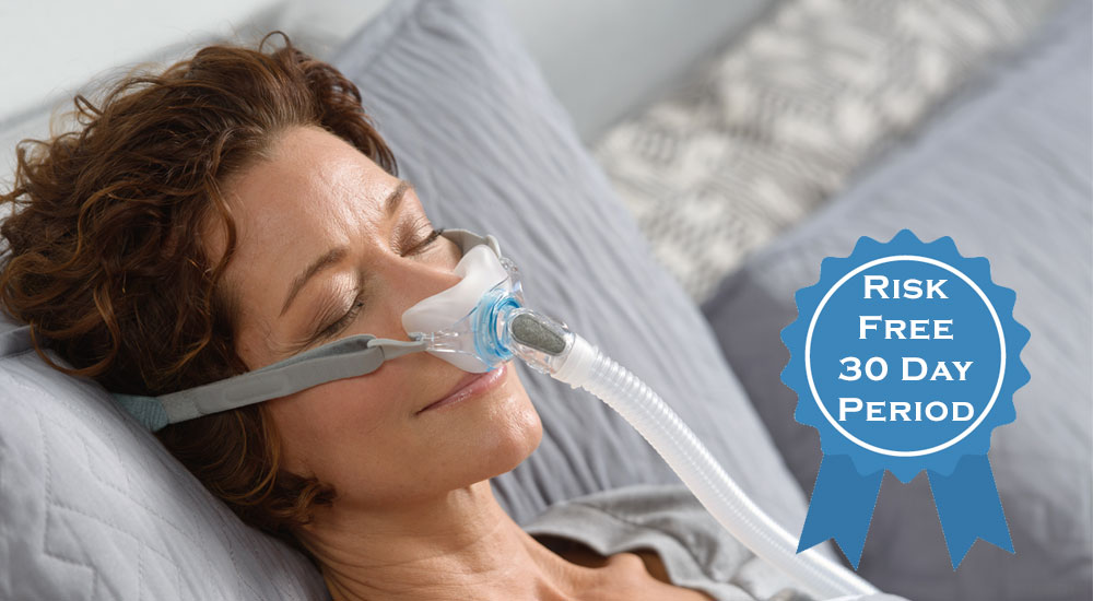 Risk Free Trial on CPAP Masks