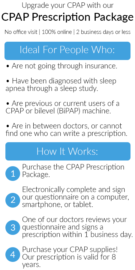 Free CPAP Prescription Refill with New Auto CPAP - Easy Breathe