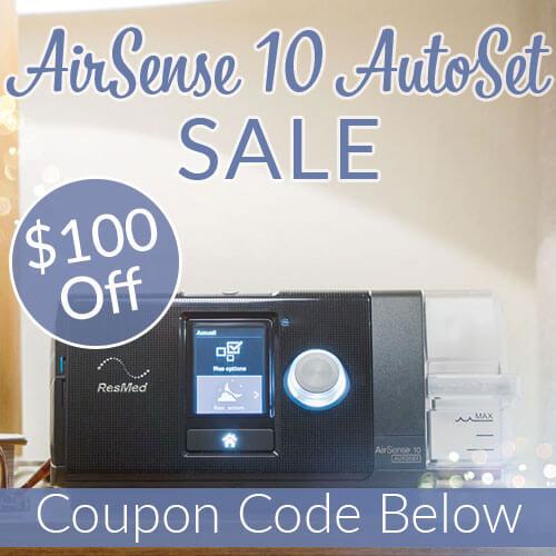 AirSense 10 AutoSet Sale | Save $100 Today - Easy Breathe