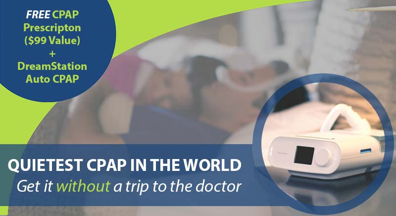 Free CPAP Prescription Refill With DreamStation Auto - Easy Breathe