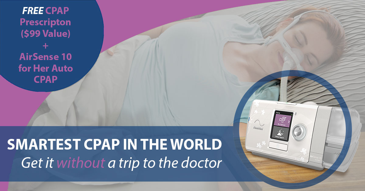 Free Cpap Prescription Refill With Airsense Auto Cpap For