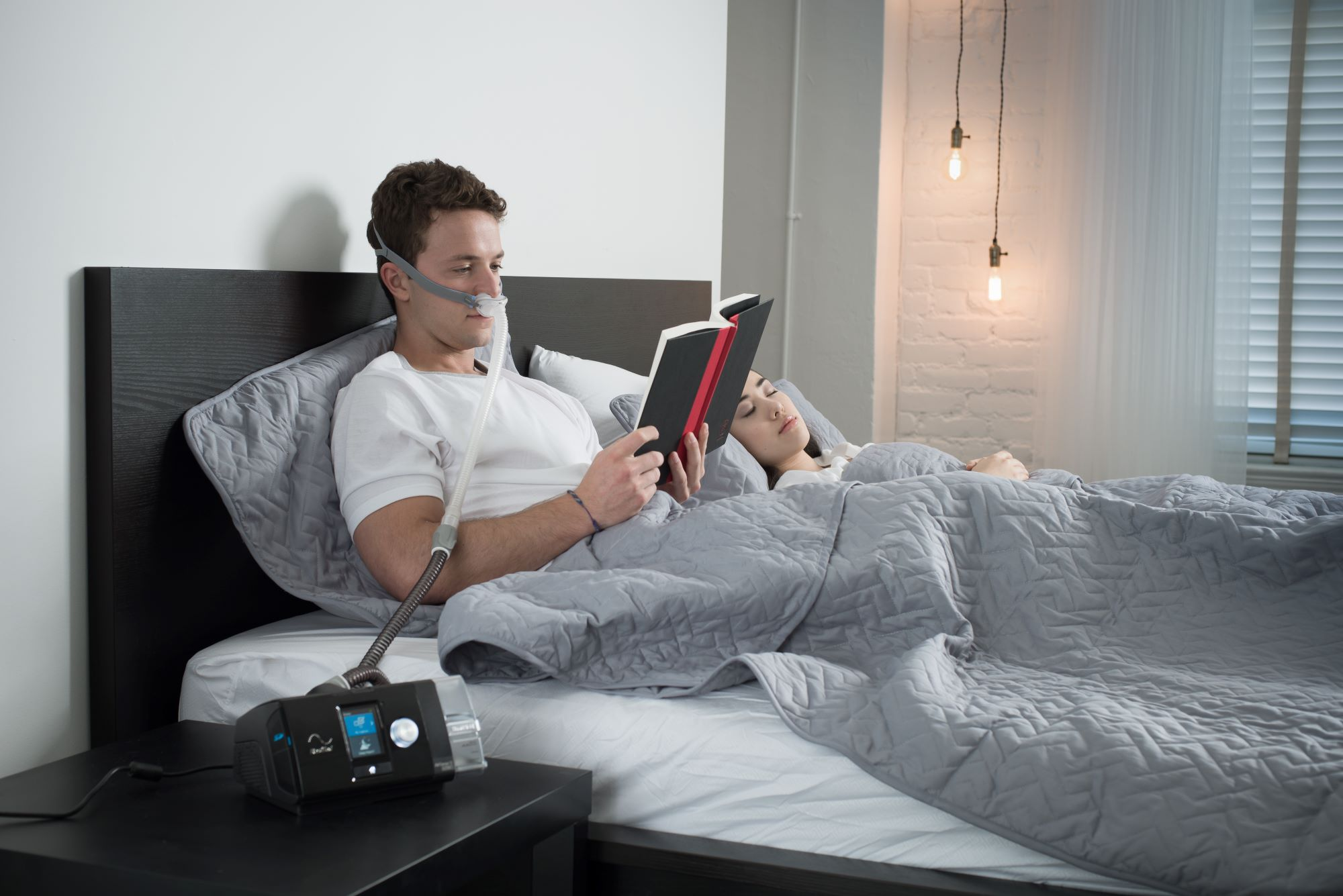 P10 mask connected to airsense 10 cpap machine; cpap mask type is nasal pillow