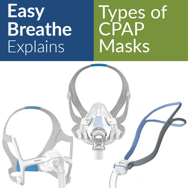 Types of CPAP Masks | Easy Breathe Explains