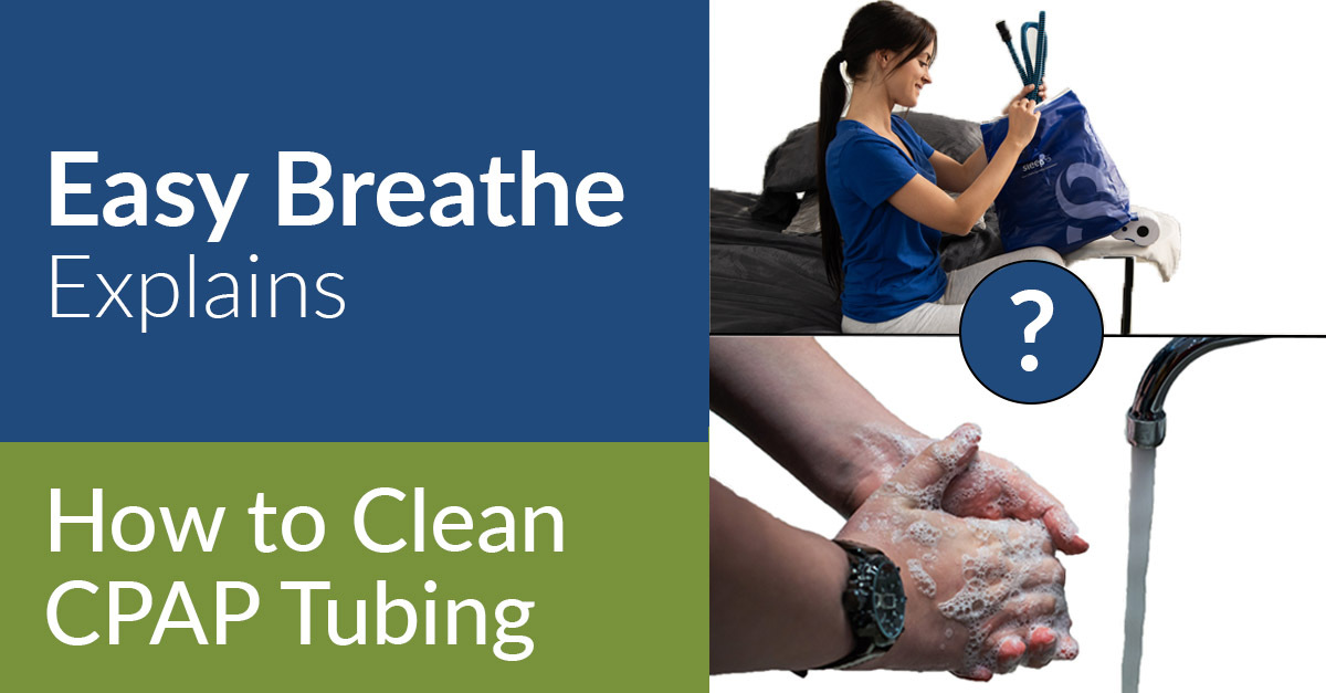 "How To Clean CPAP Tubing, Easy Breathe ""How To"" Series"
