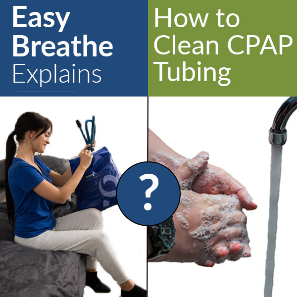 """How To Clean CPAP Tubing, Easy Breathe """"How To"""" Series"""