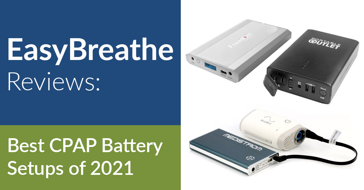 Best CPAP Battery | Easy Breathe Reviews