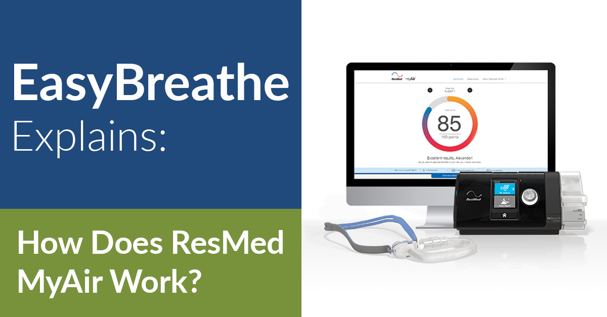 Easy Breathe Explains: How Does ResMed MyAir Work?