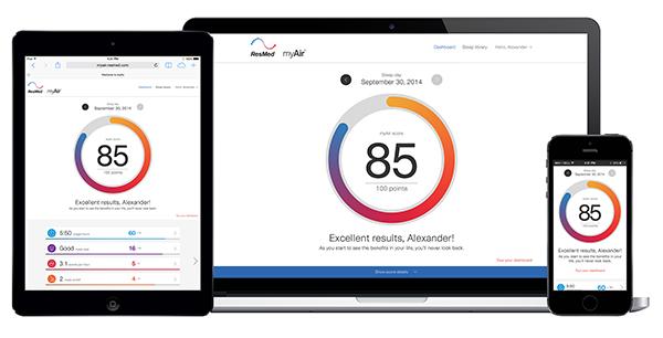 Access MyAir on desktop, tablet, or smartphone